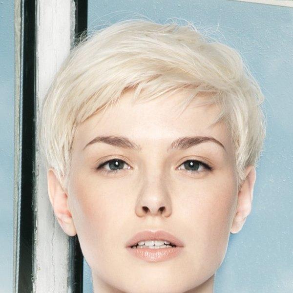Теплый блонд цвет волос